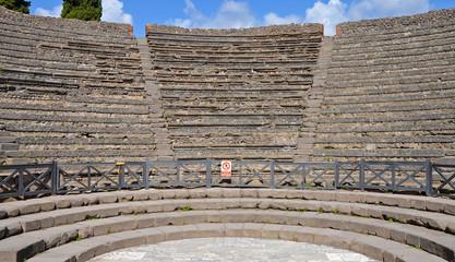Odeion (small theatre) in Pompeii