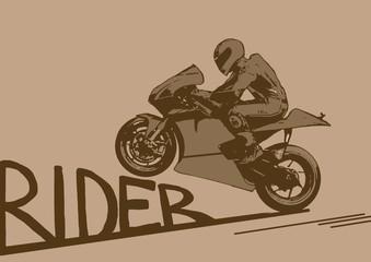 Rider vintage