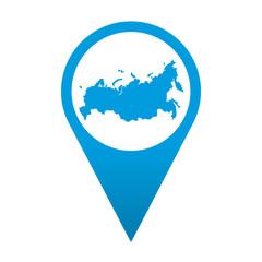 Icono localizacion Rusia