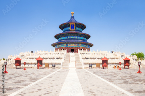 Foto op Canvas Beijing Temple of Heaven