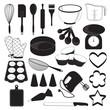 Baking Tool Icons Set - 65797625