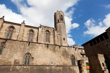 Fortress in Barrio Gotico, Barcelona, Spain