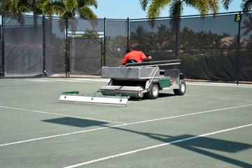 Spécifique tennis - Entretien motorisé
