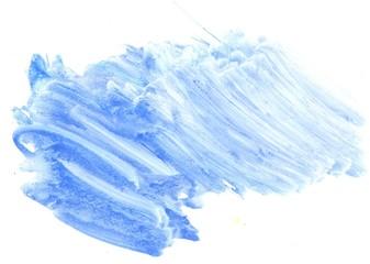 Blue Painted Background
