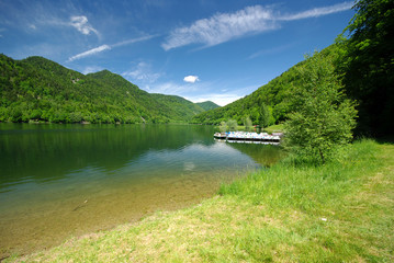 Lac de Kruth-Wildenstein, Alsace (Fr)