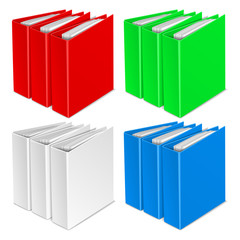 folder color vector icon