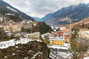 Ski resort town Bad Gastein in  Austria, Land Salzburg