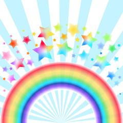 虹 星 背景