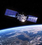 Fototapety Satellite In Space