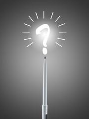 Frage Fragezeichen fragen Nachdenken Kreativität Stift