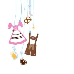Octoberfest Hanging Symbols