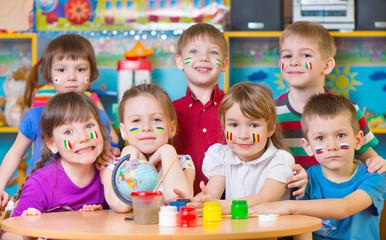Children in language camp