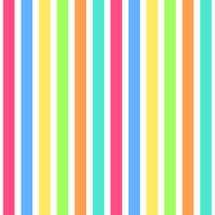 simple seamless background with colorful stripes