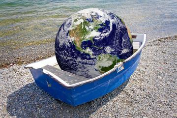 Rettungsboot für die Erde