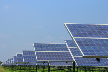 solar panel ecological  power for alternative  energy