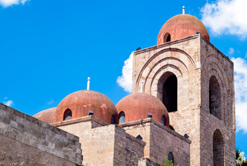 St. John of the Hermits domes, Palermo