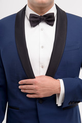 Close-up of style for man