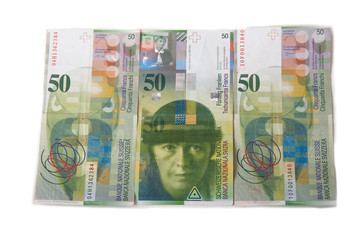Swiss Franc Bills