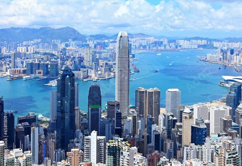 In de dag Hong-Kong Hong Kong