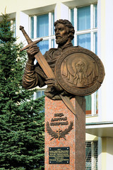Monument to Prince Dmitry Pozharsky in Borisoglebsk