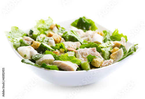 Aluminium Salade bowl of chicken salad
