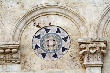 Particolare della facciata della Cattedrale di Cagliari