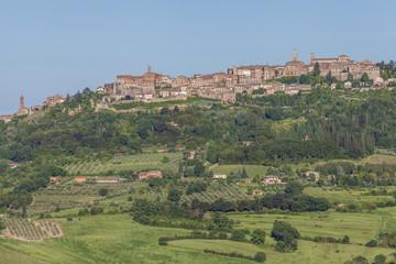 Kulturlandschaft und Montepulciano