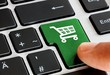 Leinwandbild Motiv Einkaufen online