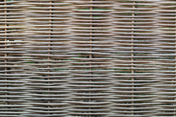 Wicker fence