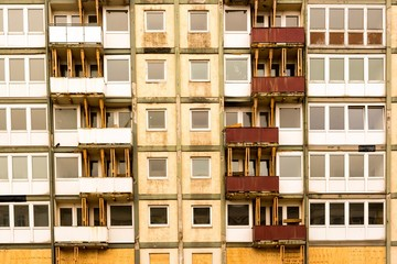 Fassade vor dem Abriß