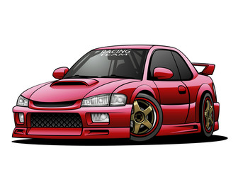 JDM Sports Car 02