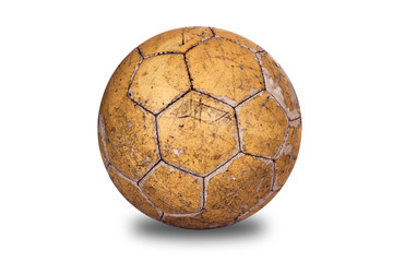 Old, used football