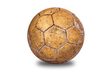 Old, used football
