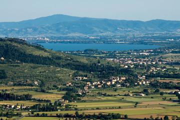 View of Trasimeno Lake