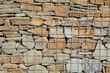 Gabione mit großen Natursteinen - 65816816