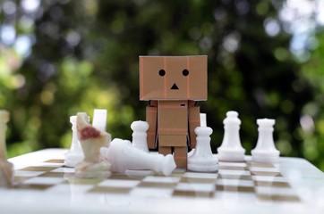 Boxman chessplayer