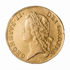 George II Double Guinea obverse