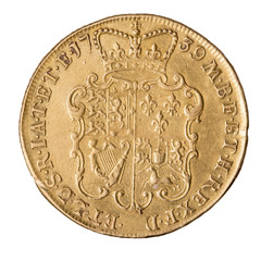 George II Double Guinea reverse
