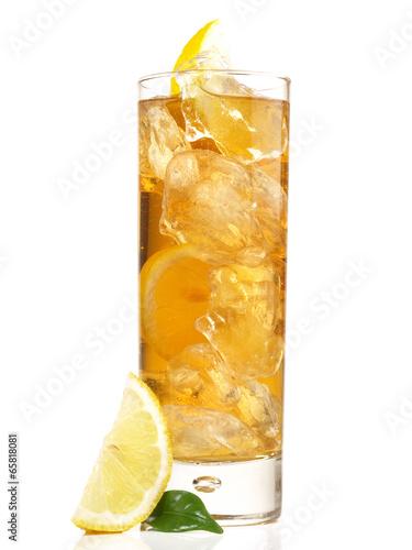In de dag Buffet, Bar Eistee - Zitrone