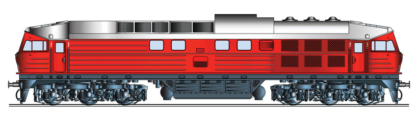 Diesel-electric Locomotive