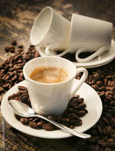 Fotobehang Cafe Caffè