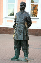 Sculpture Policeman of the 19th century