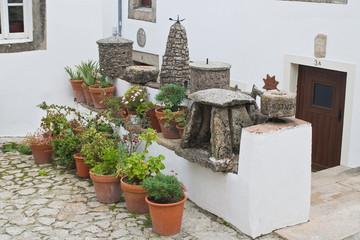 macetas y dolmen