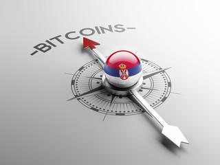 Serbia  Bitcoin Concept
