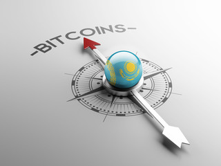 Kazakhstan  Bitcoin Concept