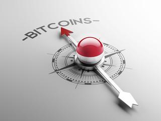 Indonesia  Bitcoin Concept