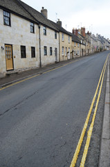 Street in Winchcombe, Cotswolds,England