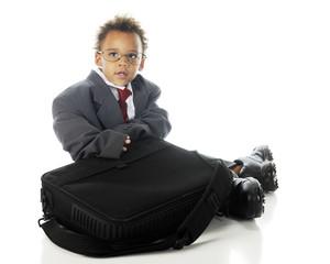 Tiny Businessman