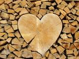 Herz im Holz - 65822683