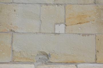 Reparatur einer Sandsteinmauer II